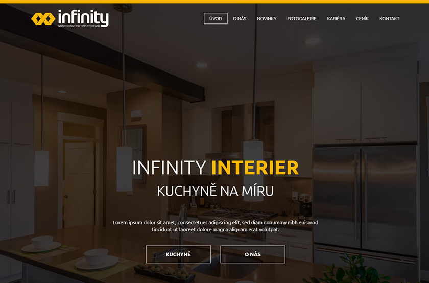 Infinity Interier