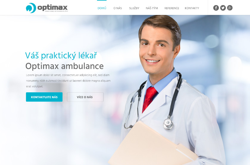 Optimax ambulance